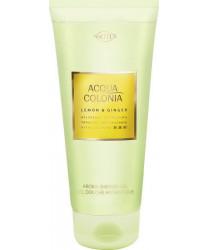Maurer & Wirtz 4711 Aqua Colognia Lemon & Ginger Shower Gel 200 ml
