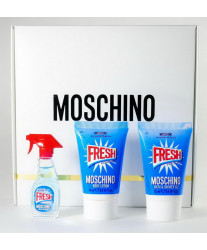 Moschino Fresh Couture Набор edt 5ml+25ml sh/gel+25ml b/lotion