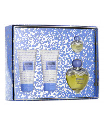 Moschino Toujours Glamour Набор edt 50ml+b/lotion 50ml+sh/g 50ml+edt 5 ml