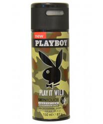 Playboy Play It Wild Men Deodorant Spray 150 ml