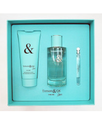 Tiffany & Co love for Her Набор edp 90ml+ edp 4ml+ 100ml b/lotion