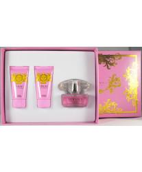 Versace Bright Crystal Набор edt 50ml+sh/gel 50ml+b/lotion 50ml