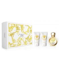 Versace Eros Pour Femme Eau De Toilette Набор edt 50ml+ b/lotion 50ml+ sh/gel 50ml