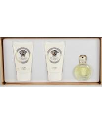 Versace Eros Pour Femme Eau De Toilette Набор edt 5ml+b/lotion 25ml+sh/g 25ml