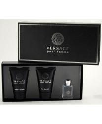 Versace Pour Homme Набор edt 5ml+sh/gel 25ml+ash/bal 25ml