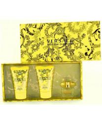 Versace Yellow Diamond Набор edt 5ml+b/lotion 25ml+sh/g 25ml