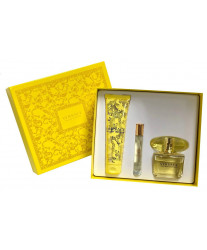 Versace Yellow Diamond Набор edt 90ml+edt 10ml+b/lotion 150ml