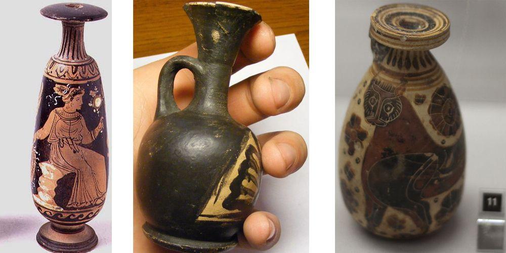 Древнегреческие вазы   Русский след   500x1000